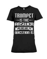 TRUMPET TSHIRT FOR TRUMPETER Premium Fit Ladies Tee tile