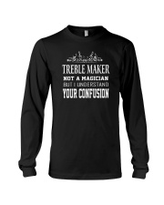 Treble maker magician funny musician tshirt Long Sleeve Tee tile