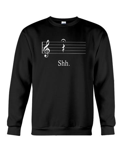 MUSIC TEACHER - Shh Shut Up Rest tshirt