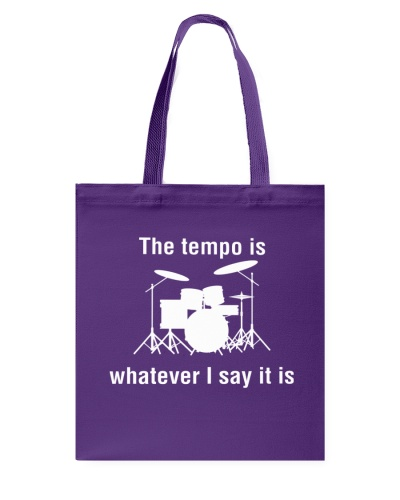 The Tempo is Whatever I say Funny Drummer Drums
