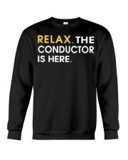 FUNNY SHIRT FOR CONDUCTOR Crewneck Sweatshirt thumbnail