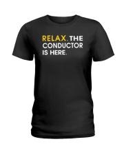 FUNNY SHIRT FOR CONDUCTOR Ladies T-Shirt thumbnail
