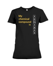 FUNNY DESIGN FOR PERCUSSION PLAYERS Premium Fit Ladies Tee thumbnail