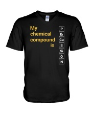 FUNNY DESIGN FOR PERCUSSION PLAYERS V-Neck T-Shirt thumbnail