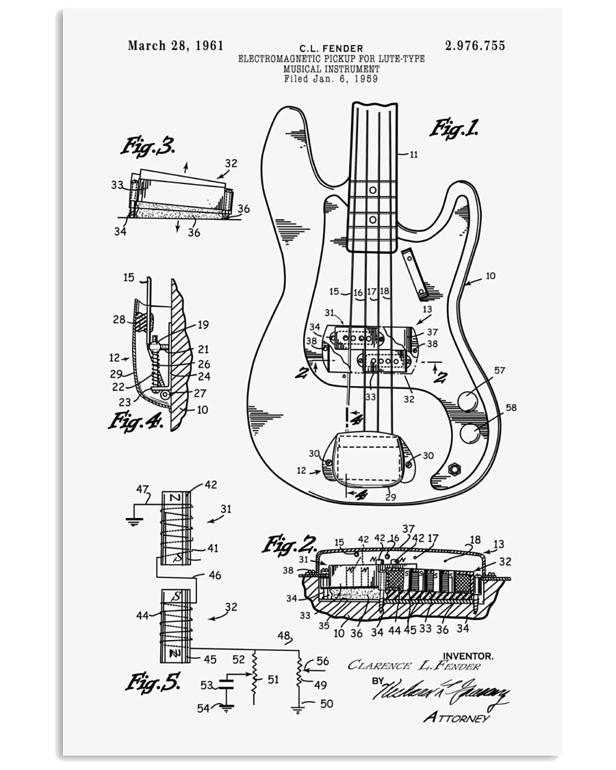MUST HAVE FOR BASS PLAYERS 11x17 Poster