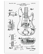 MUST HAVE FOR BASS PLAYERS 11x17 Poster front