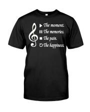 TSHIRT FOR MUSICIAN - MUSIC TEACHER - ORCHESTRA Classic T-Shirt front