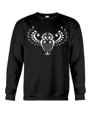 FUNNY TSHIRT FOR MUSICIAN - THE OWL NOTE Crewneck Sweatshirt thumbnail