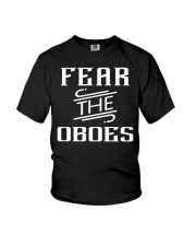 FUNNY DESIGN FOR OBOE PLAYERS Youth T-Shirt thumbnail