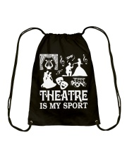 AWESOME DESIGN FOR THEATRE LOVERS Drawstring Bag thumbnail