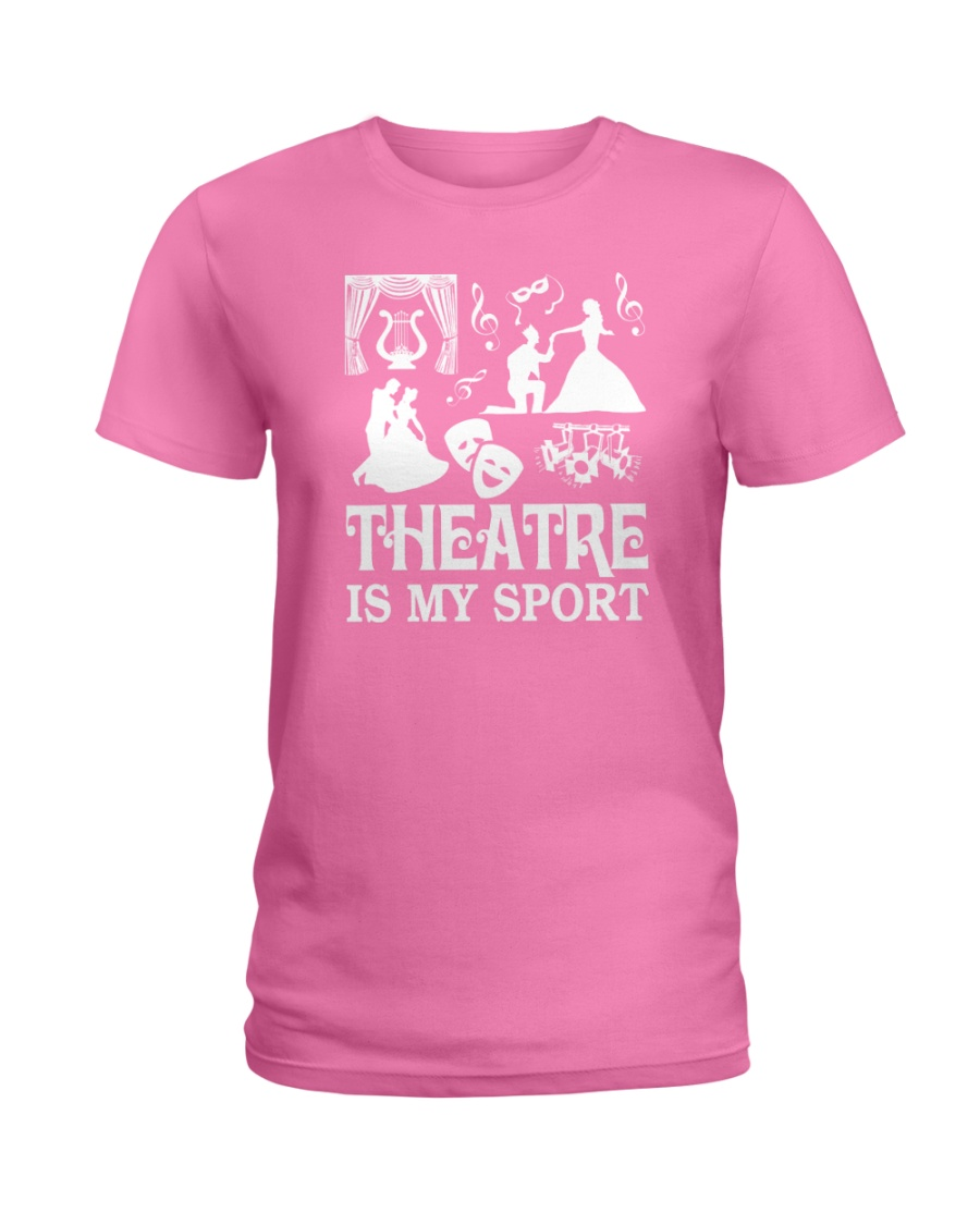 AWESOME DESIGN FOR THEATRE LOVERS Ladies T-Shirt