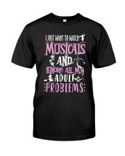 THEATRE THEATER MUSICALS MUSICAL TSHIRT Classic T-Shirt thumbnail