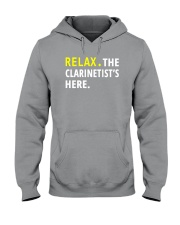 AWESOME DESIGN FOR CLARINET PLAYERS Hooded Sweatshirt thumbnail
