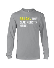 AWESOME DESIGN FOR CLARINET PLAYERS Long Sleeve Tee thumbnail