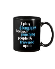 FUNNY BAGPIPES TSHIRT FOR PIPER PIPE BAND Mug thumbnail