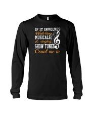THEATRE THEATER MUSICALS MUSICAL TSHIRT Long Sleeve Tee thumbnail
