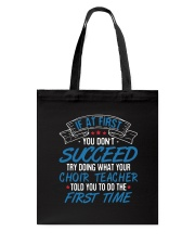 CHOIR SINGING SINGER VOCALIST - SING Tote Bag thumbnail
