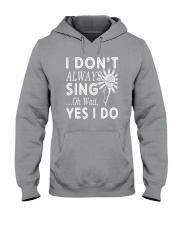 FUNNY DESIGN FOR SINGING LOVERS Hooded Sweatshirt thumbnail