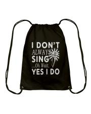 FUNNY DESIGN FOR SINGING LOVERS Drawstring Bag thumbnail