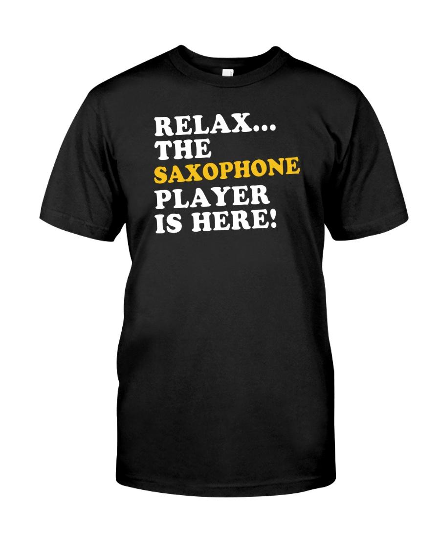 FUNNY SAX TSHIRT FOR SAXOPHONE PLAYER Classic T-Shirt