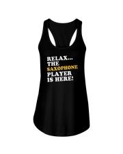 FUNNY SAX TSHIRT FOR SAXOPHONE PLAYER Ladies Flowy Tank thumbnail