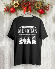 FUNNY MUSIC THEORY TSHIRT FOR MUSICIAN TEACHER Classic T-Shirt lifestyle-holiday-crewneck-front-2