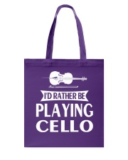 FUNNY TSHIRT FOR CELLO  PLAYERS  Tote Bag thumbnail