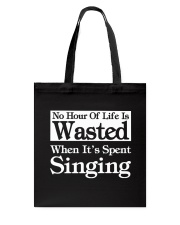 CHOIR SINGING SINGER VOCALIST - SING TSHIRT Tote Bag tile