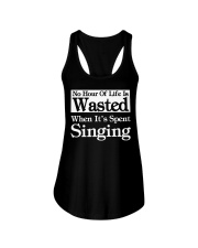 CHOIR SINGING SINGER VOCALIST - SING TSHIRT Ladies Flowy Tank thumbnail