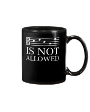 DECAF IS NOT ALLOWED TENOR ALTO CLEF VERSION Mug thumbnail