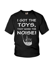 FUNNY BAGPIPES TSHIRT FOR PIPER PIPE BAND Youth T-Shirt thumbnail