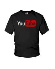 TUBA TSHIRT FOR TUBIST TUBAIST Youth T-Shirt thumbnail