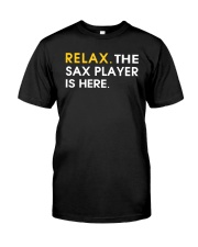 FUNNY SAX TSHIRT FOR SAXOPHONE PLAYER Classic T-Shirt front