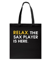 FUNNY SAX TSHIRT FOR SAXOPHONE PLAYER Tote Bag thumbnail
