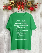 FUNNY MUSIC THEORY TSHIRT FORTE PIANISSIMO Classic T-Shirt lifestyle-holiday-crewneck-front-2