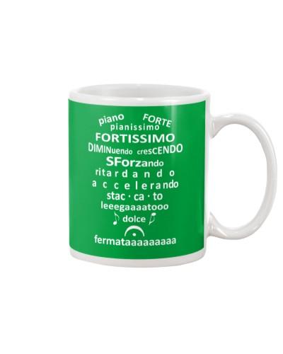FUNNY MUSIC THEORY TSHIRT FORTE PIANISSIMO