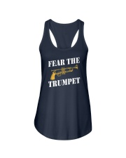 Fear the trumpet funny trumpeter tshirt Ladies Flowy Tank thumbnail