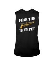 Fear the trumpet funny trumpeter tshirt Sleeveless Tee thumbnail