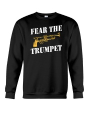 Fear the trumpet funny trumpeter tshirt Crewneck Sweatshirt tile
