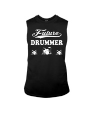 FUNNY DRUM DRUMS TSHIRT FOR DRUMMER Sleeveless Tee thumbnail