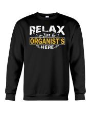 AWESOME DESIGN FOR ORGAN PLAYERS Crewneck Sweatshirt thumbnail