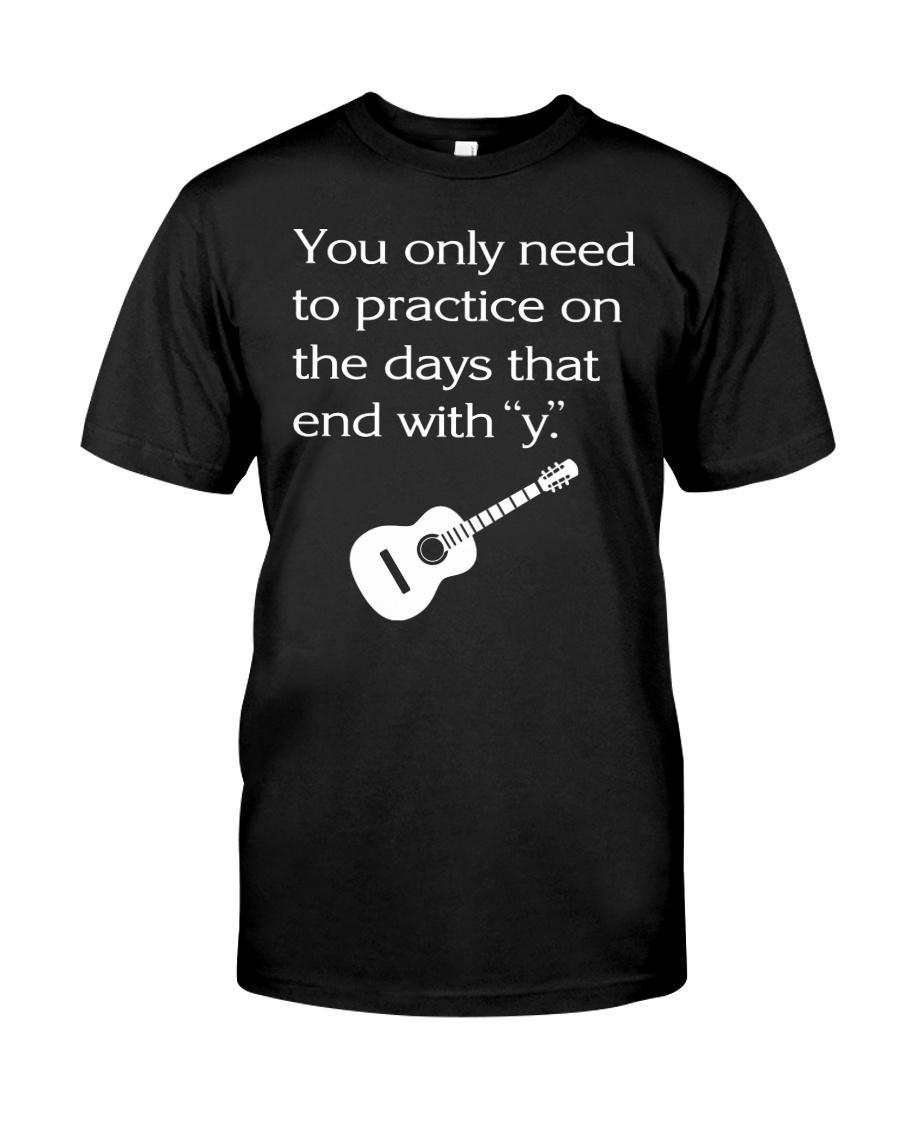 ELECTRIC ACOUSTIC GUITAR TSHIRT FOR GUITARIST Classic T-Shirt