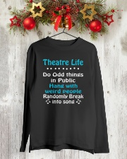 THEATRE THEATER MUSICALS MUSICAL TSHIRT Long Sleeve Tee lifestyle-holiday-longsleeves-front-2
