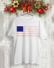 4th Of July - Independence Day America Flag Tshirt Classic T-Shirt lifestyle-holiday-crewneck-front-2