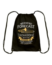 TROMBONE TSHIRT FOR TROMBONIST Drawstring Bag thumbnail