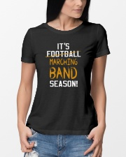 It's Marching Band Season Funny Ladies T-Shirt lifestyle-women-crewneck-front-10
