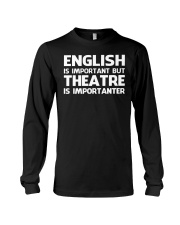THEATRE THEATER MUSICALS MUSICAL TSHIRT Long Sleeve Tee thumbnail