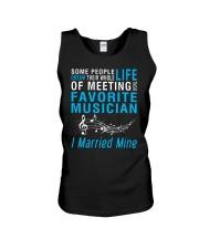 Meeting Favorite Musician married Wife Husband Unisex Tank thumbnail