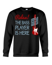 FUNNY BASS GUITAR TSHIRT FOR BASSIST Crewneck Sweatshirt thumbnail