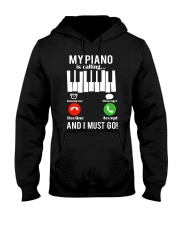 AWESOME DESIGN FOR PIANO PLAYERS Hooded Sweatshirt tile
